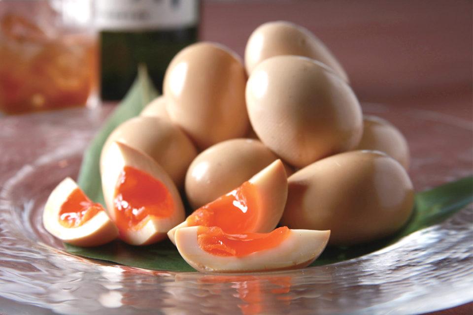 燻製工房 然の半熟燻製卵