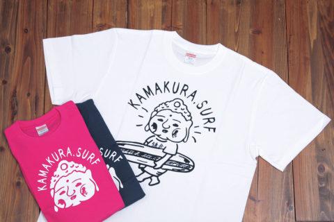カマクラおみやのぶっちゃんTシャツ