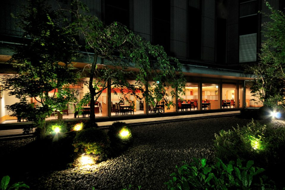 日本料理「木の花」の外観